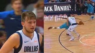 Luka Doncic Shows The NBA He
