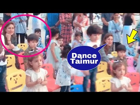 Xxx Mp4 Kareena Kapoor Khan Cheering TAIMUR To Dance With Other Kids In A Birthday Party So Cute 😍 3gp Sex