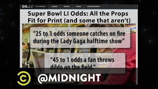 Prop Bets- The Possibilities Are Endless - @midnight with Chris Hardwick