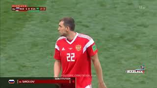 خلاصه بازی روسیه و عربستان 5-0