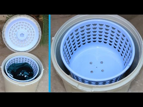 Xxx Mp4 How To Make A SPIN DRYER Using Bucket Basket Very Easy 3gp Sex