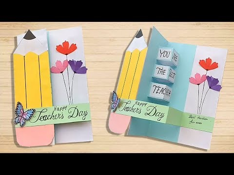Xxx Mp4 DIY Teacher S Day Pop Up Card Handmade Teachers Day Card Making Idea 3gp Sex