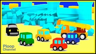 Cartoon Cars City - CRAZY CAR SMASH! Construction Cartoons for Children - Kids Cars Cartoons