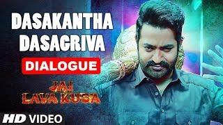 Dasakantha Dasagriva Dialogue   Jai Lava Kusa Dialogues   Jr Ntr, Rashi Khanna