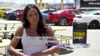 FAST & FURIOUS 7 - Michelle Rodriguez vs. Ronda Rousey