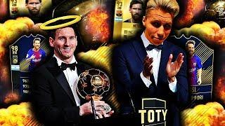 TIDENES BESTE FOTBALLSPILLER PÅ FIFA?! 🤴🔥 TOTY MESSI SKAL REDDE OSS I FUT DRAFT!!