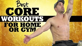 BEST Core Workouts for Home or Gym