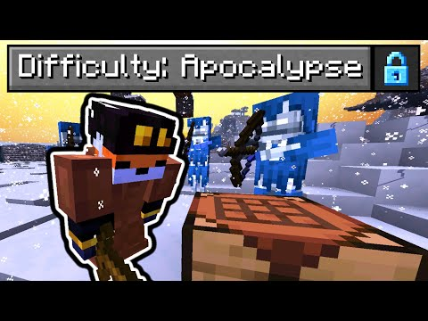 So I made an Apocalypse Difficulty in Minecraft