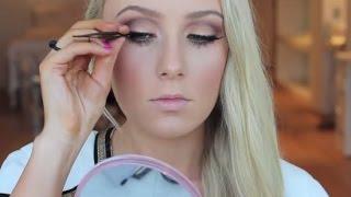 Makeup tutorial and hair ☘ Too faced sweet peach palettetalk through full