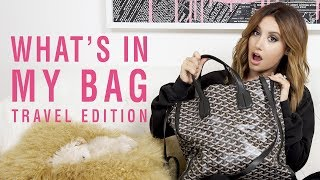 What's in My Bag | Travel Edition | Ashley Tisdale