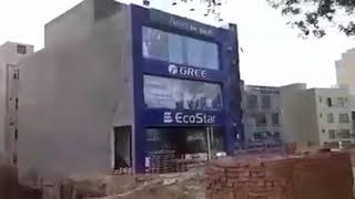 Building collapsed fell down in Bahria town Lahore