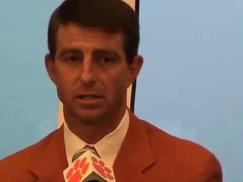 TigerNet Dabo Swinney emotional as he is named Clemson head football coach