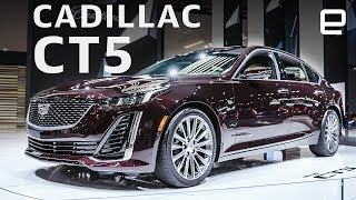 Cadillac CT5 at the New York Auto Show: