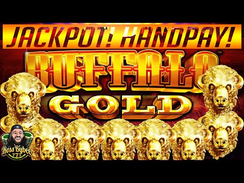 ⭐️⭐️ MASSIVE HANDPAY! BUFFALO GOLD SLOT MACHINE JACKPOT! $3.60 MAX BET! OVER 100 FREE SPINS ⭐️⭐️