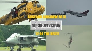 RAF COSFORD AIRSHOW - 12 OF THE BEST! (airshowvision)