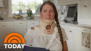 Victim Of Amusement Park Ride Derailment In Florida Speaks Out For The First Time | TODAY