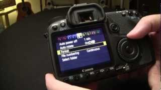 Magic Lantern install Canon 50D