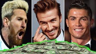 أغنى 10 لاعبين في عالم كرة القدم | أرقام خيالية!!