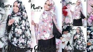 Tutorial Hijab Khimar Shabby by Desi Arisaptuti