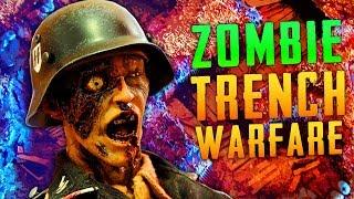 WW2 ZOMBIE TRENCH WARFARE (Call of Duty Zombies)