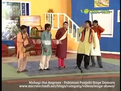 Mehngi Hui Angraee   New Pakistani Punjabi Stage Damara