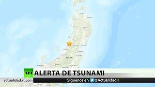 Alerta de tsunami tras un terremoto de 6,7 en Japón
