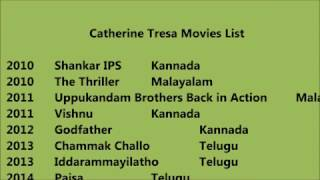 Catherine Tresa Movies List