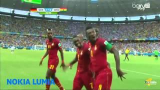 رقص لاعبي غانا على المهرجانات المصرية | مسخرة