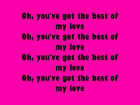 The Emotions- Best of My Love Lyrics
