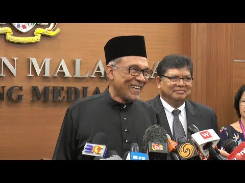 Xxx Mp4 Anwar's First Press Conference In Parliament As PD MP 3gp Sex