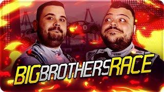 BIG BROTHERS RACES : Tamponamenti tra me e CiccioGamer89 ! [GTA 5 Online]