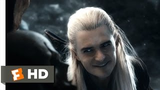 The Hobbit: The Battle of the Five Armies - Legolas's Rampage Scene (8/10) | Movieclips