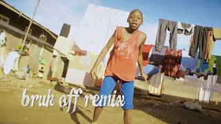 Konshens x Chris Brown-Bruk Off Yuh Back(African Ghetto Kids Dance)
