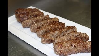 How To Make Ćevapi (Skinless Sausages)