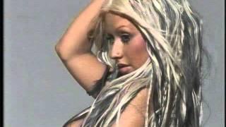 Christina Aguilera Nude Maxim Photo Shoot
