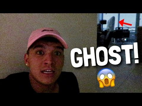 CAUGHT MY GHOST ON CAMERA! (SCARY)