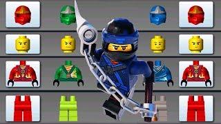 LEGO NINJAGO BUILD MONSTER TRUCK, FLYING CAR, HELICOPTER ✔ LEGO JUNIORS CREATE & CRUISE | LEGO Games