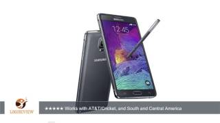 Samsung Galaxy Note 4 N910C Unlocked Cellphone, International Version, 32GB, Black | Review/Test