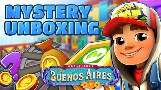 💰 Subway Surfers Mystery Unboxing - Opening Mystery Boxes in Buenos Aires