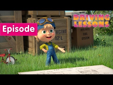 Xxx Mp4 Masha And The Bear Driving Lessons 🚕 Episode 55 3gp Sex