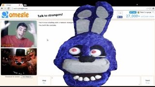 Five Nights At Freddy's Real Life: Omegle Prank