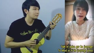 (Aashiqui 2) Tum Hi Ho - Dhea Puse Shakwa & Nathan Fingerstyle (cover)