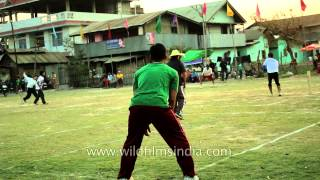 Cricket match organised by Citizen Club, Imphal