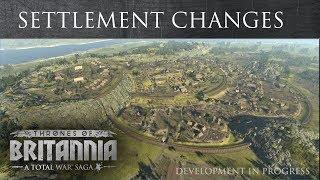 Total War Saga: Thrones of Britannia - Settlement Changes