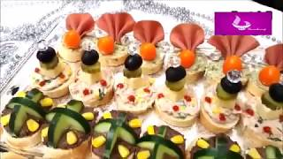 SAMIRA TV  les canapés sales  مملحات فاخرة في 5 دقائق