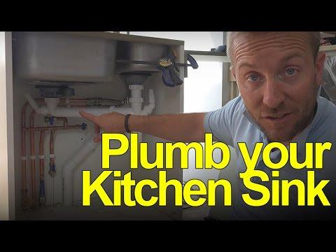 Plumbing Underneath Your Kitchen Sink - Plumbing Tips
