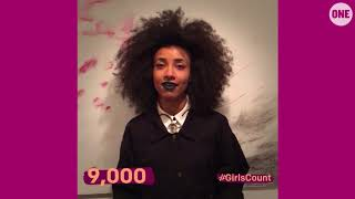 #GirlsCount | Esperanza Spalding - 9,000