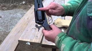 Loading The 1858 Remington Percussion Revolver