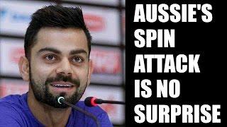 Virat Kohli not surprised with Australia picking 4 spinner for Indian tour | Oneindia News