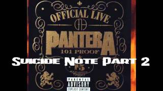 Pantera - Official Live 101 Proof 1997 (Full Lenght live concert)